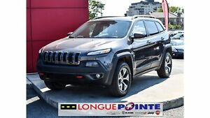 2016 Jeep Cherokee Trailhawk CUIR - HITCH- 6CYL