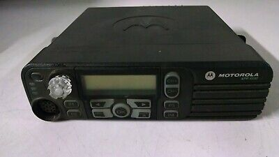 Motorola Xpr 4550  Model Aam27qph9la1an Uhf Digital Mobile Radio Used