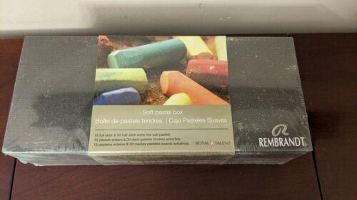 Rembrandt Soft Pastels 45 Sticks - 15 Full & 30 Half - BRAND NEW UNOPENED