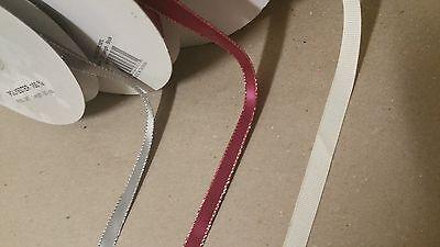 50 YDS of custom print ribbon- Grossgrain and Sparkling Edge Satin](Custom Ribbons)