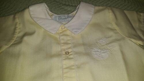 Vintage, Beautiful Yellow Dress for Baby Girl, Pleated on Back by, Feltman  14