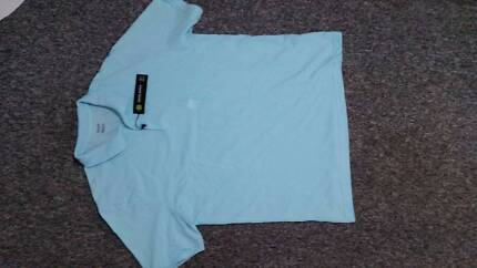 David Jones Green Classic Plain Polo - new with tags - large