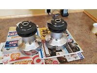 2x Lewmar 40 2 speed Self Tailing Winch