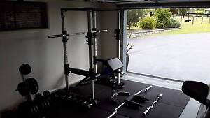 Complete home gym with olympic bars - everything you need. Maitland Area Preview