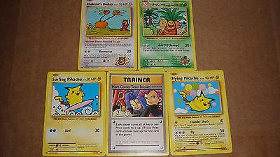 Pokemon COMPLETE 5 Card Evolutions Secret Rare Lot Set - 109 110 111 112 113/108