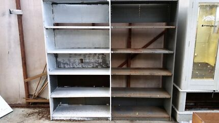 Metal shelves storage units Hunters Hill Hunters Hill Area Preview