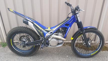 Sherco ST300 2016 model trials bike