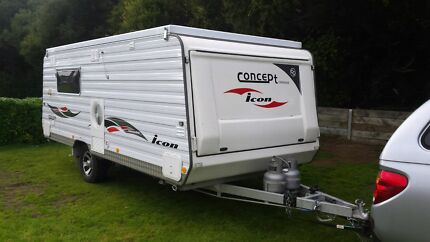 Make an Offer - 2011 Concept Icon 17ft Poptop Caravan Hewett Barossa Area Preview