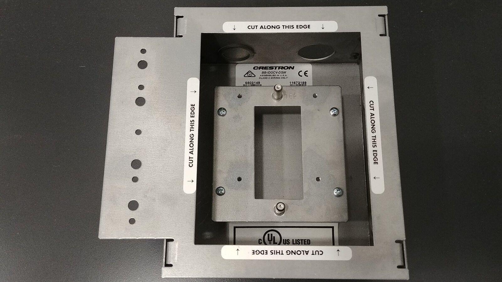 Crestron BB-IDOCV-DSW Pre-Construction Wall Mount Back Box (For CEN-IDOCV-DSW)