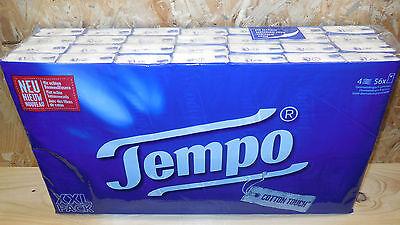 56 x 10 St. TEMPO Taschentücher, 4-lagig, Tempos, Papiertaschentücher, XXL-Pack