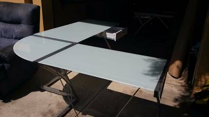 Corner glass Office Table Chidlow Mundaring Area Preview