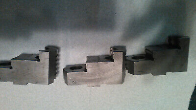 Lathe Chuck Hard Top Jaws Tonguegroove Approx. 1.5 Oaw High Quality Brand