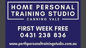 Home Personal Training Studio - Adam Mildenhall Canning Vale Canning Area Preview