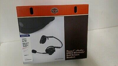 Harley Davidson Boom Audio SPH10 Bluetooth Half Helmet Headset