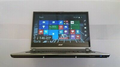 "Acer Aspire M5-481PT 14"" Touch-screen inte Core i5 3337U 6GB RAM 500GB HDD Win 8"