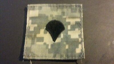 """2"""" x 2"""" ACU US Army Specialist Rank Insignia Patch"""