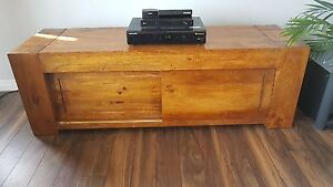 Rosewood media console