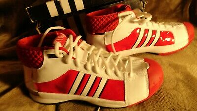 - 883947942950 ADIDAS TS PRO MODEL TEAM WHITE RED MENS 6.5 Basketball Shoe