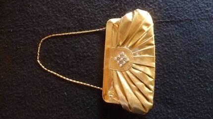Handbag gold small