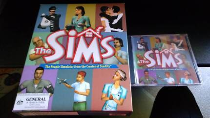 Vintage PC game: The Sims