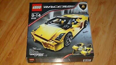 Lego Racers: Lamborghini Gallardo LP 560-4 ~ 8169 ~ New
