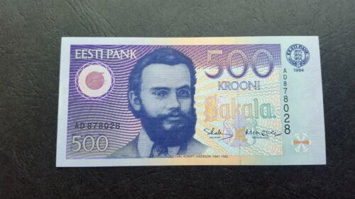 ESTONIA 500 krooni 1994 UNC