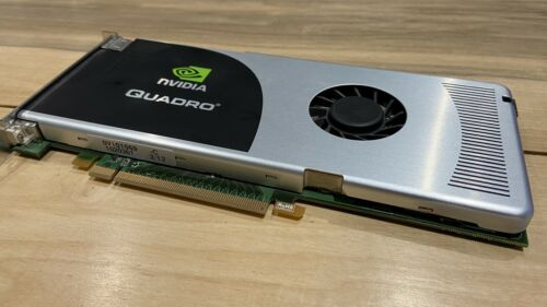 Carte graphique nvidia quadro fx 3700 workstation / 3d / cao