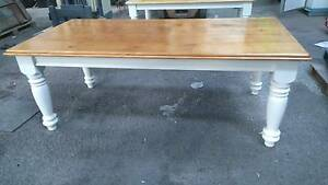 FRENCH COUNTRY DINING  TABLE 8 SEAT Graceville Brisbane South West Preview