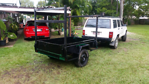 Heavy duty 6×4 tilt box trailer