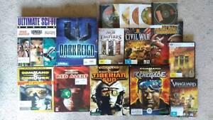 pc games - various titles