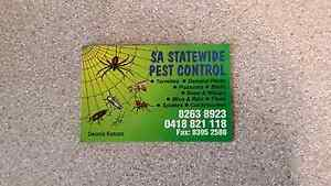 Pest Control Services Modbury Heights Tea Tree Gully Area Preview
