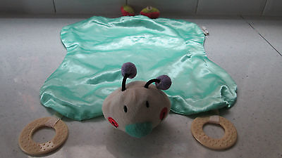 LADYBIRD BABY COMFORTER SOOTHER TEETHER SOFT TOY