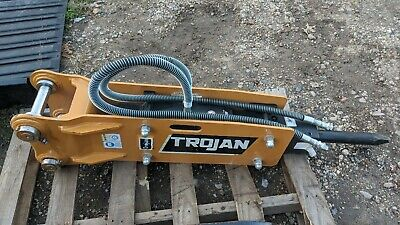 New 2020 Trojan Th35 Hydraulic Hammer For Excavator Cat 303 Deere 35