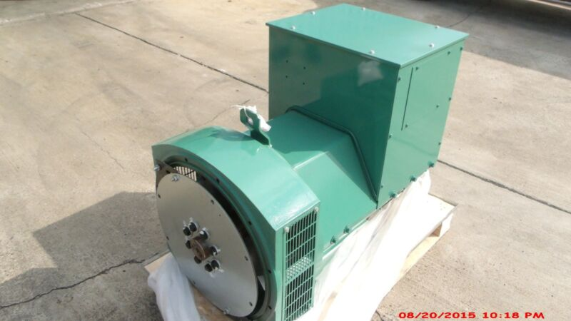 Generator Alternator Head Cgg224g 75kw 1 Ph Sae 3 /11.5 120/240 Volts Industrial