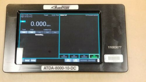 Auditor AIMCO DISPLAY ATDA-8000-10-DC Series Torque Data Analyzers USED #O677