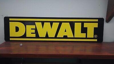 DeWalt Logo Aluminum Sign  6