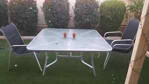 Outdoor Glass table Kinross Joondalup Area Preview
