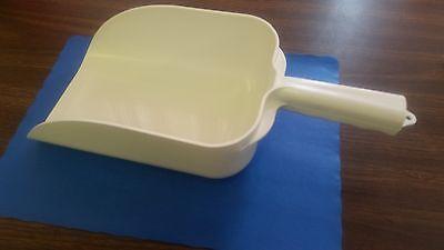 ICE SCOOP 64 oz WHITE LARGE PLASTIC BAR & RESTAURANT COMMERCIAL GRADE/HOME BARS Plastic Ice Scoop
