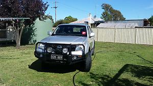 2010 Nissan navara d40 turbo diesel manual ONO Maffra Wellington Area Preview