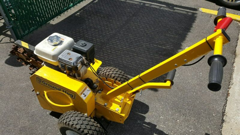 Used In Very Good Condition Ground Hog T4-HS-18 Trencher