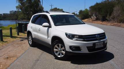 Volkswagen VW Tiguan 2013 MY14 132 Pacific AWD Beige Leather Burswood Victoria Park Area Preview