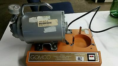 ALLIED HEALTHCARE PRODUCTS GOMCO 402 PORTABLE ASPIRATIONS SUCTION PUMP *WORKS!*