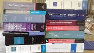 Law textbooks - used Newrybar Ballina Area Preview