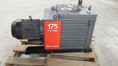 Edwards 175 Two-stage Vacuum Pump E2m175 Sn 099410080