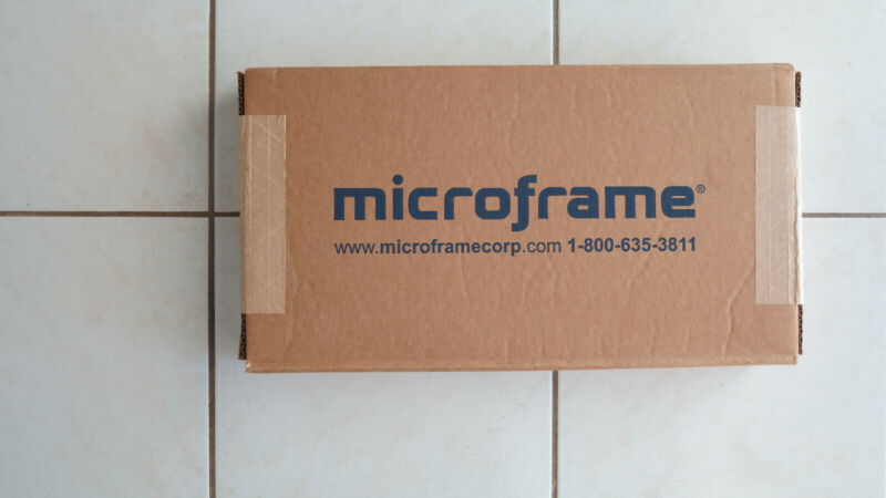 Microframe 6340  4-Digit Intelligent Timer LED Display -One Display Unit Only!!