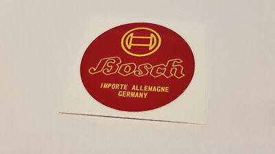 Bosch * Aufkleber * 55 mm * Oldtimer Batterie Autobatterie Motorradbatterie