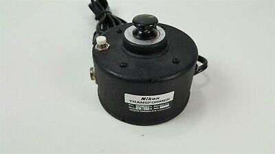 Nikon 6v Microscope Power Supply Transformer 31804