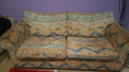 2 seater sofa with sofa Bed