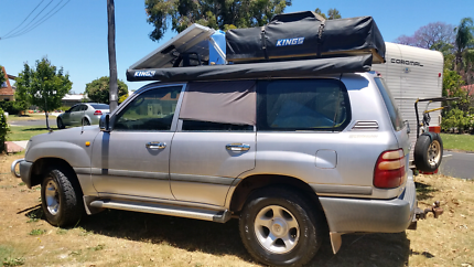Landcruiser fully loaded for touring. 10 yrs service at 1 garage