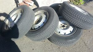 215 / 65 / R 16 set of tires for 150$